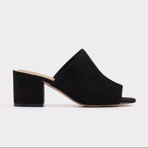 Chic Black ALDO Slip-on Mules